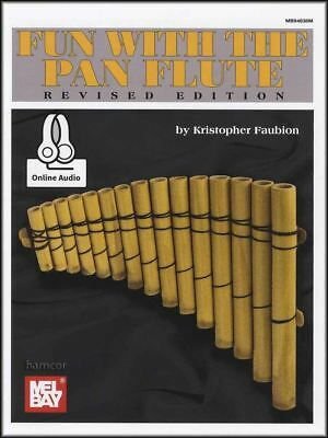 Fun with the Pan Flute Sheet Music Book with Audio Learn How To Play Method