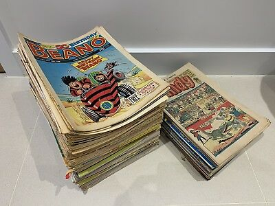 Job Lot 200 x The Beano Comic's  from 1988 - 2007 Dandy 1982 2004 Used