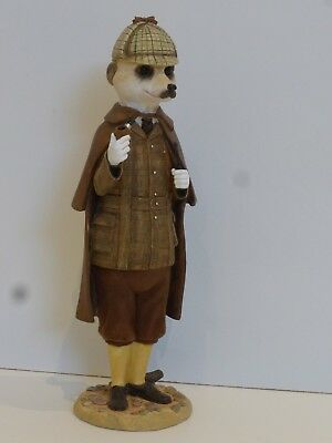 Magnificent Meerkats - Sherlock - Country Artists - New In Box - CA04160