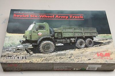 ICM, Soviet Six-Wheel Army Truck in 1/35