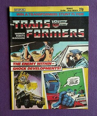 Transformers comic UK issue 14