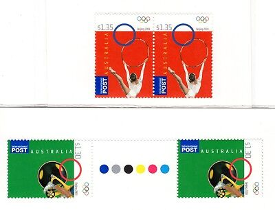 2008 Beijing Olympics pairs of stamps