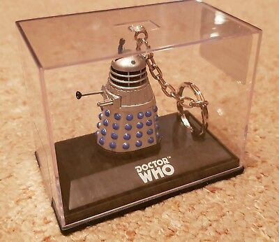 Mint New Dr Who Boxed Dalek Keyring -  M&s - Doctor Who