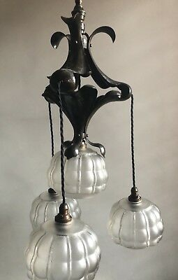 Original Arts & Crafts / Nouveau  Light / Lamp / in the manner of WAS Benson