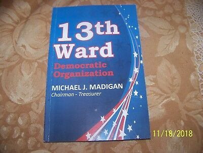 Chicago 13Th Ward Democratic Organization Booklet 2015-2016