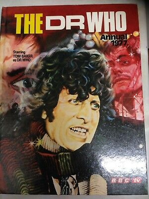 The Dr Who Annual 1977. Good Condition **Free UK Postage**