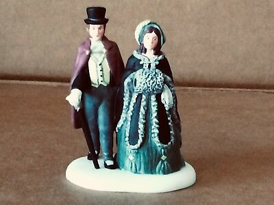 Department 56 A Gentleman and Lady Dickens Village Set of 1 #56.58559