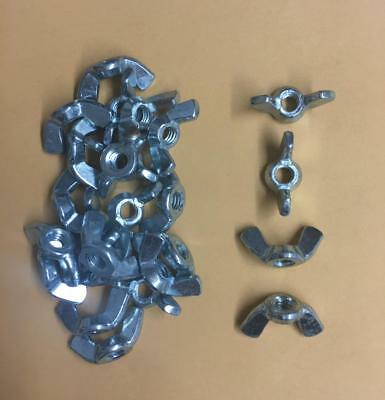 Stainless Steel Wing Nut NC 1/4-20 Quantity 25