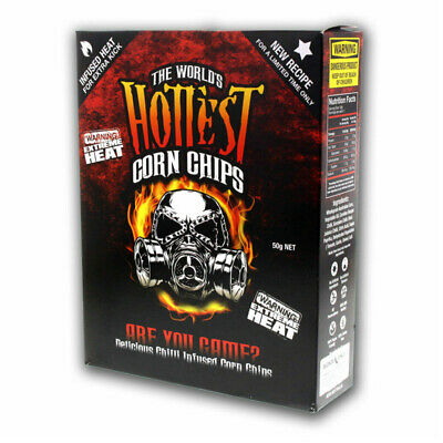 The World's Hottest Corn Chips Carolina Reaper Scorpion Extreme Chilli Seed Bank