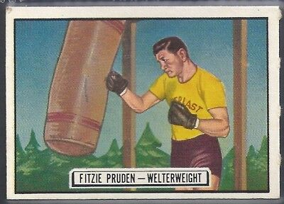 Topps-Ringside 1951-#65- Boxing - Fitzie Pruden