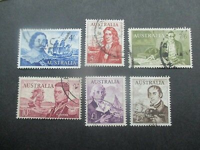 Pre decimal Stamps: Navigators Set Used   (v263}