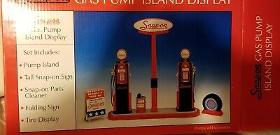 Snap-on 1:12 Scale Gas Pump Island Display Set – NO PUMPS INCL