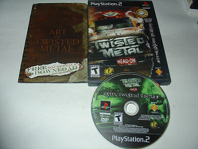 twisted metal head on extra twisted edition