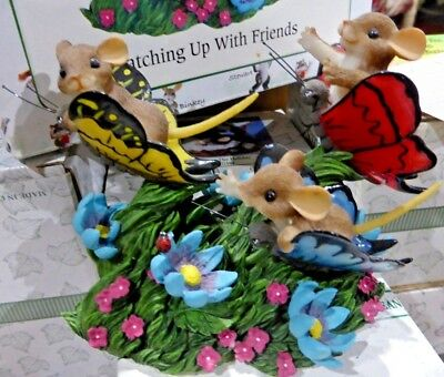 Charming Tails Catching up with Friends 89/239 Fitz & Floyd Box&Tag Display Only