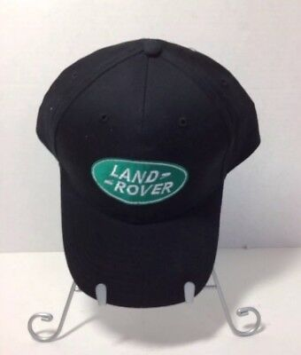 Men's Land Rover Baseball Style Cap One Size Black Land Rover Embroidered