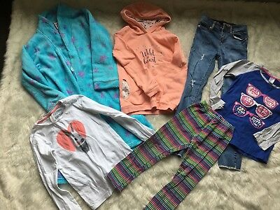 Girls Bulk lot clothes size 7-8 Dressing gown Jeans Hoodie + More