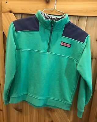 Vineyard Vines boys 1/4 zip pullover, size L