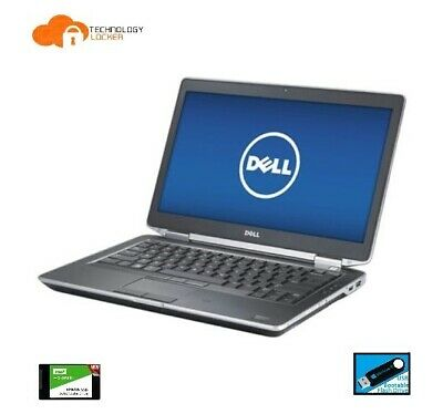 "Dell Latitude E6430 14"" Laptop Intel i5-3340M @2.70GHz 8GB MEM 120GB SSD Win 10"