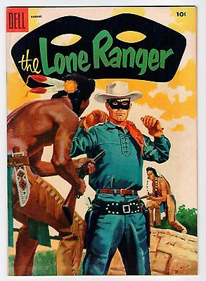 Dell THE LONE RANGER #86 August 1955 Vintage Comic