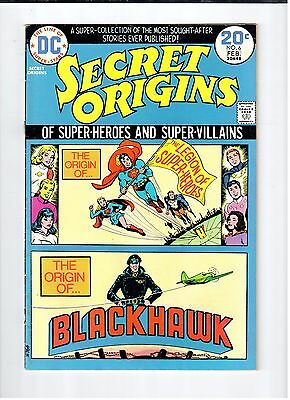 DC SECRET ORIGINS #6 1974 Vintage Comic