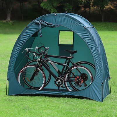 Portable Bicycle Bike Storage Tent Shed Cave Space Saver Garden Backyard Camping