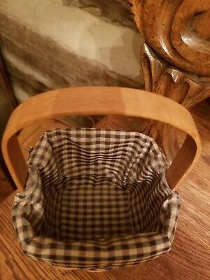 Longaberger Peg Basket