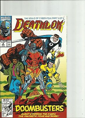 Deathlok #5-#9  Featuring the Punisher Ghost Rider Marvel Comics