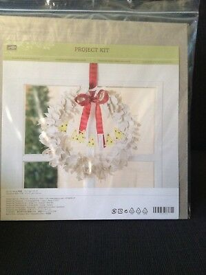 Stampin Up Xmas Christmas Craft Wreath Project Kit