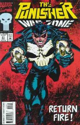 Punisher  War Zone #21  Marvel Comic Book  (1992 Series)