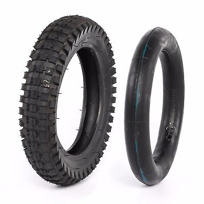 12.5x2.75 Front Rear Knobbly Tire Tyre & Inner Tube Trail Dirt Bike Motorcycle
