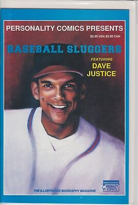 Dave Justice Personalty Comic Book