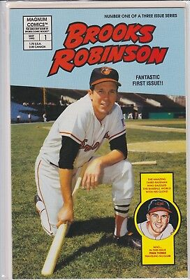 Brooks Robinson 1St Issue Comic Book