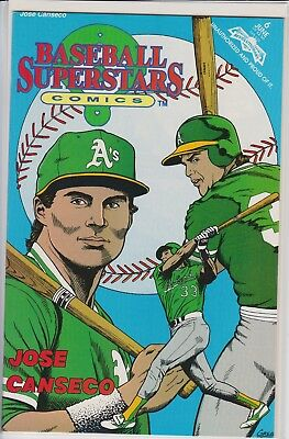 Jose Canseco June Comic Book