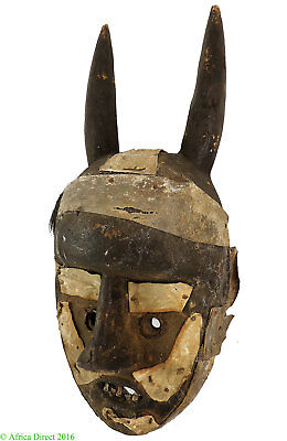 Grebo Protection Mask with Horns Liberia Africa SALE WAS $450.00