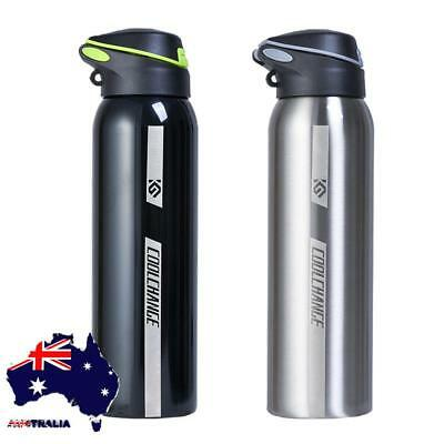 AU 500ml Bicycle Cycling Water Drink Bottle Insulated Thermos Portable Kettle