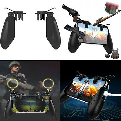Gamepad Fire Button Gaming Trigger L1R1 Shooter Controller Phone for PUBG Mobile