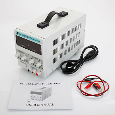 Variable Linear DC Power Supply 30V 5A and 10A Adjustable Dual Digital Lab Grade