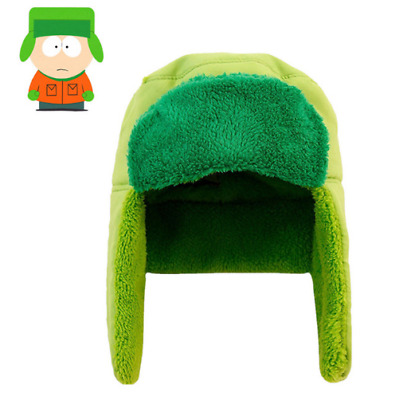446664c0e59 Anime South Park Brolovowski Kyle Cosplay Trapper Hat Cap Green Winter  Cotton
