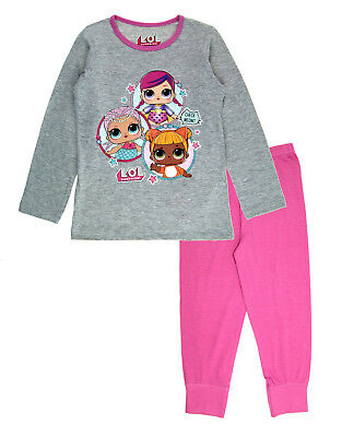 LOL Surprise Dolls Girls Pyjama Set LOL Pyjamas PJs Cotton Nightwear Kids Size