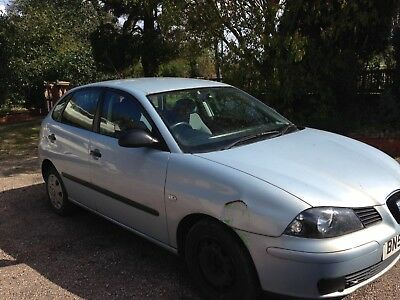 SEAT IBIZA 52 REG no mot SPARES OR REPAIR RUNNER