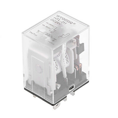 DC24V Coil 6Pin  Plastic Case Power Relay HTL-2H