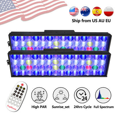 "DSunY Aquarium LED light 36"" Full Spectrum Reef Coral SPS/LPS Fish tank Dimmable"
