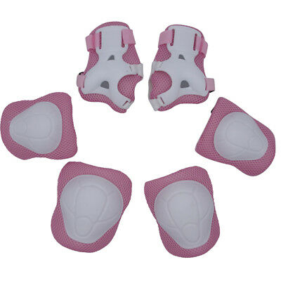 6 PCs Kids Protector Wrist Knee Protective Gear Twist Electric Safety Guard