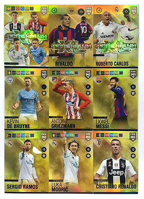 2019 Panini Adrenalyn XL FIFA 365 * RARE * Invincible AXL LEGEND Top Master set
