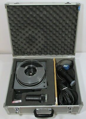 Kodak Carousel S-AV2000 Slide Projector 75-120mm & 85-210mm Lens in Carry Case
