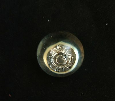 Vintage Small Corning Glass Center Paperweight Giveaway? Advertisement?