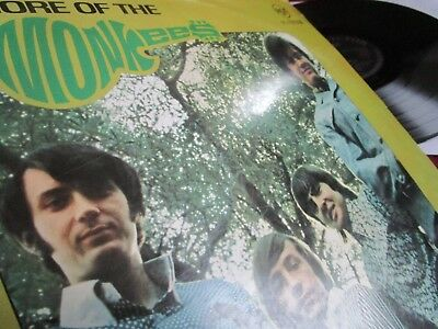 """THE MONKEES  ♫ MORE OF.... ♫ RARE 1st PRESS 1967 / ERSTAUSGABE IM """"WABBELCOVER"""""""