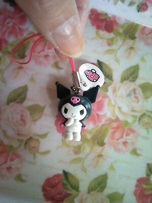 Sanrio My Melody KUROMI too cute ☆Mascot Mobile Strap Key Chain from Japan