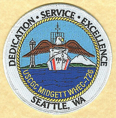 USCGC MIDGETT Seattle WA W5018 Coast Guard patch Space Needle