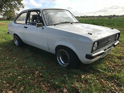 mk 2 ford escort NEW BUILD rally race track